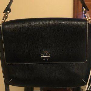 Tory Burch Crossbody/Shoulder black leather bag